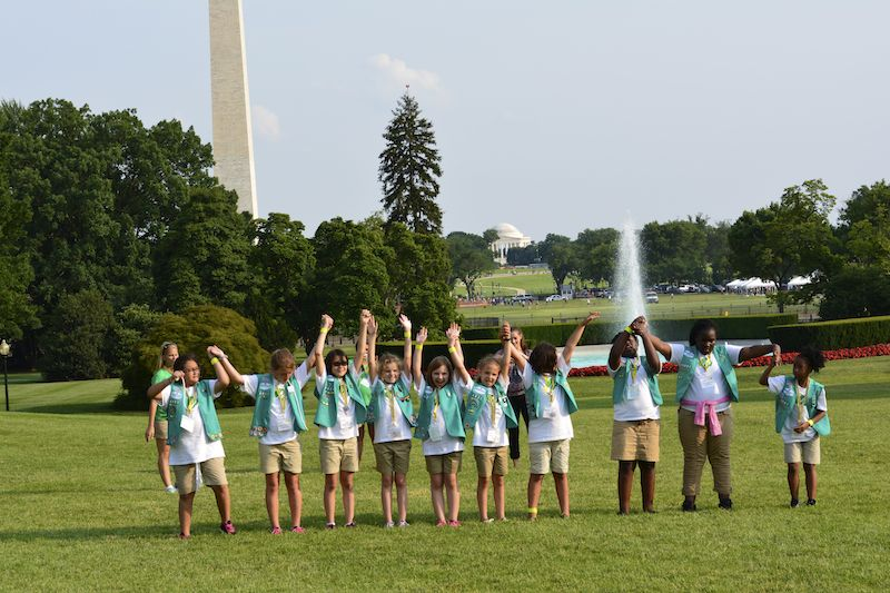 Girl Scouts White House Camp out