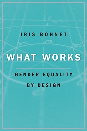Iris Bohnet award winning book