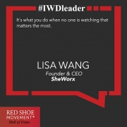 Lisa Wang is leveling the playing field for female entrepreneurs.