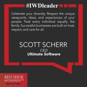 Scott Scherr inspires his team daily with his strong, inclusive vision.
