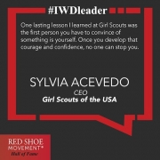 Sylvia Acevedo went from rocket scientist to CEO of one of the most beloved American organizations.