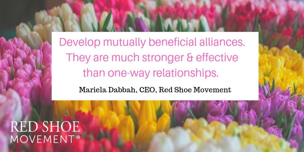 Building mutual alliances quote
