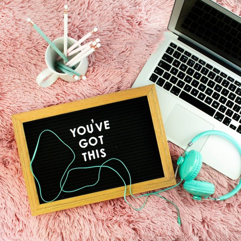You've got this. Photo Credit: Emma Matthews. Unsplash