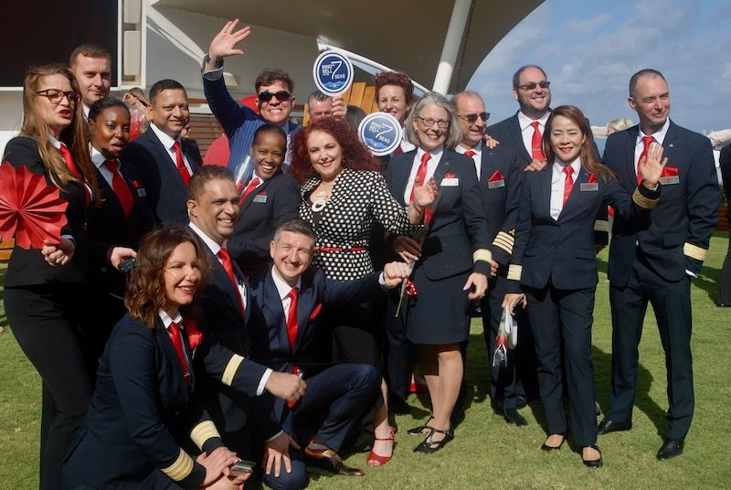 We've been Ringing the Bell on the 7 Seas, a Red Shoe Movement Gender Equality Global Initiative since 2018