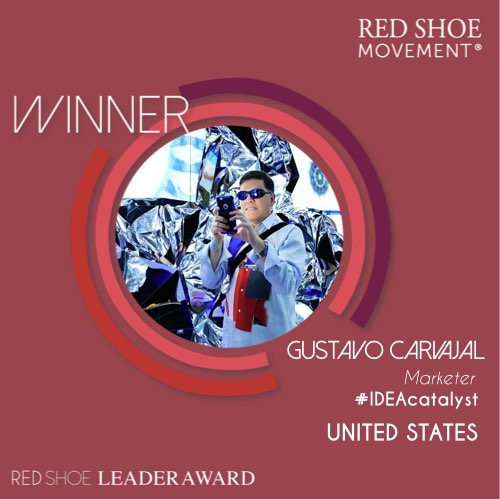 Gustavo Carvajal Red Shoe Leader Award