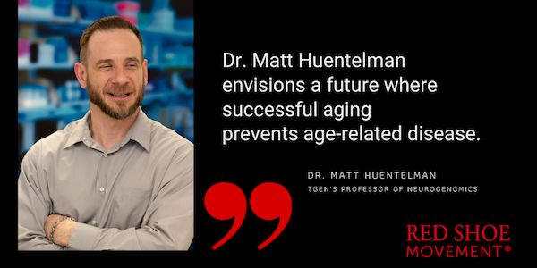 Dr. Matt Huentelman envisions a future where successful aging prevents age-related disease. Discover how aging brain research benefits from diversity in science. And help address disparities in health by taking the MindCrowd online test.