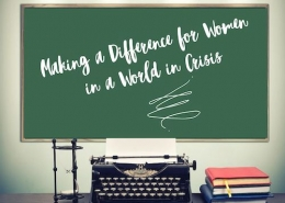 Making a difference for women