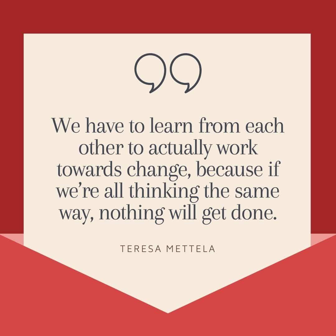 Diversity in journalism- Teresa Mettela on the importance of diversity and allyship