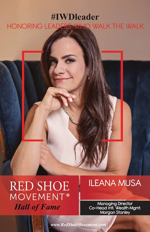 Ileana Musa, Red Shoe Movement Hall of Fame 2021 Honoree talks about transformational change